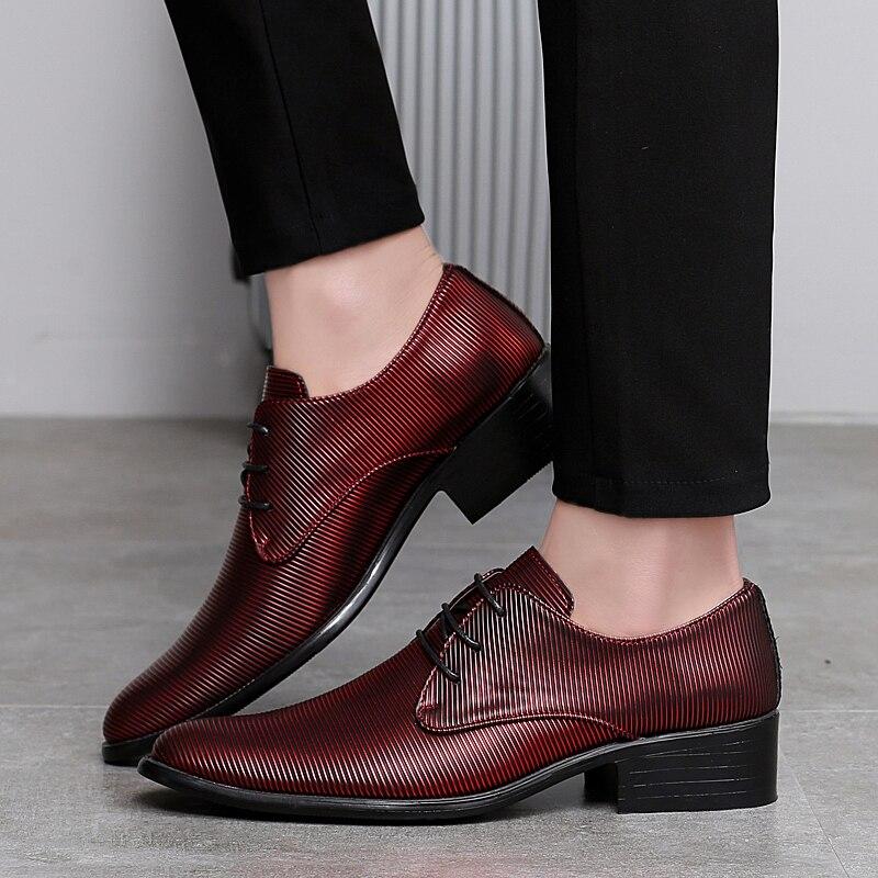 designer striped shoes men luxury brand fashion camouflage italian pointed male footwear designer man dress oxford shoes for men (28)