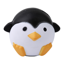 Jumb Squishy Cute Penguin Squeeze Stretch Soft Rising Restore Stress Ball Kitchen Toys Stress Relieve Pinch Vent Toys Gift