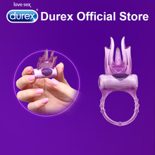 Durex Play Devil Vibrating Ring Ultra Fire Erotic Penis Cock Ring for Men Intimate Goods Sex Toys for Sex Together for Wholesale(China)