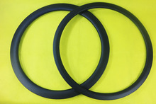 700C 38mm/50mm tubular cyclocross carbon bike rim 38T 50T for disc brake system cyclo-cross bicycle UD matte external nipples(China)