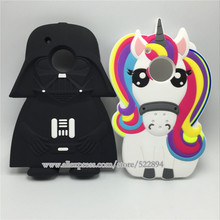 "For Motorola Moto G5 Plus 3D Silicon Unicorn Darth Vader Cartoon Soft Cover Case for Motorola Moto G5 Plus 5.2"" / MOTO G5 5.0""(China)"