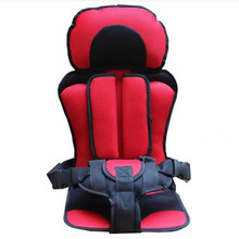 New Portable Car Seat Travel Toddler Baby Car Auto Sponge Harness 7 Months Protection Kids Car Seats Silla Para Auto Chairs(China)