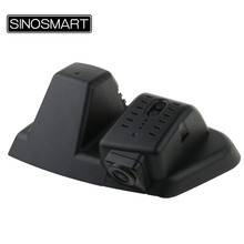 SINOSMART In Stock Novatek 96655 Car Wifi DVR Camera for Ford Edge General Model 2015 Control by App Black Dual Camera Optional