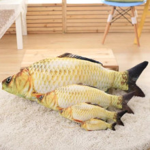 CXZYKING Creative Simulation Carp Salted Fish Dolls Animal Pattern Pillow Cushion Plush Toys Anime Pet Children's Toys(China)