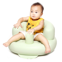 Baby PVC Inflatable Chair & Sofa Kids seat Gifts Multifunctional Baby Feeding Chair Children's Seat Sofa Toys For Children WJ393(China)