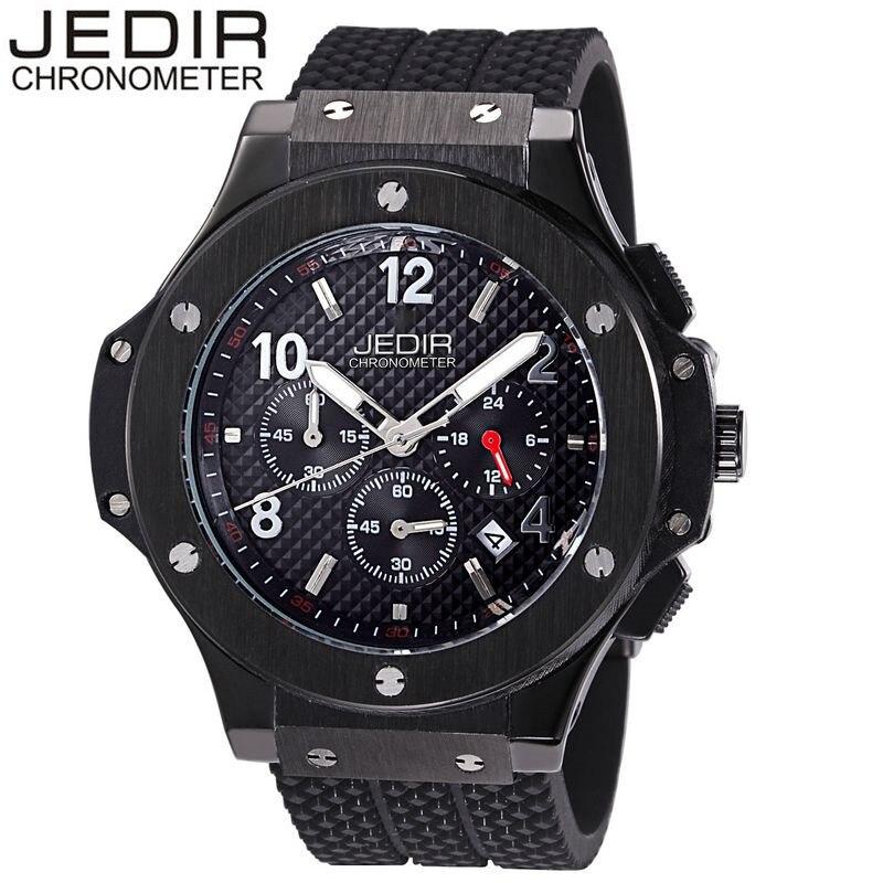 JEDIR Mens Mult-function Sport Watch Silicone Watch Top Brand Military Watch Relogio Masculino Gift Box Free Ship<br><br>Aliexpress