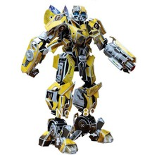 Educational Building toy bumblebee ,3D DIY robot Models,Home Adornment, Puzzle Toy,Paper model,Papercraft,bumblebee