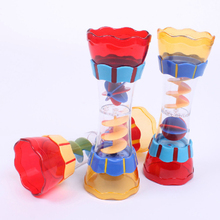 1Pcs Bath Swim Toy Toddler Kid Baby Boys Plastic Bath Swim Toy Multi-color Water Whirly Wand Cup Beach Toy Gift