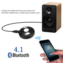 Bluetooth Receiver Wireless Bluetooth 4.1 Audio Adaptor Stream Stereo Music Adaptor 3.5mm AUX Hands-free Car Kit(China)