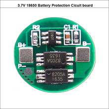 1S 3.7V 18650 PCB board and 4.2V cylindrical protection circuit with 4A constant working current for single li-ion cell
