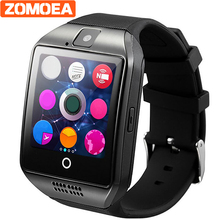 ZOMOEA Smart Watch For Android Phone With Sim Card Slot Push Message Bluetooth Connectivity Android Phone music Better 500mA(China)