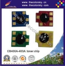 (CZ-DH4005) laser printer toner reset chip for HP CB400A - CB403A CB400 400A 400 Color LaserJet CP 4005 4005n 4005dn free dhl(China)