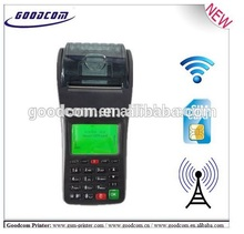 POS Wireless WIFI Printer , Handheld POS Terminal for bus ticket , restaurant online orders or POP3 Mail Orders(China)