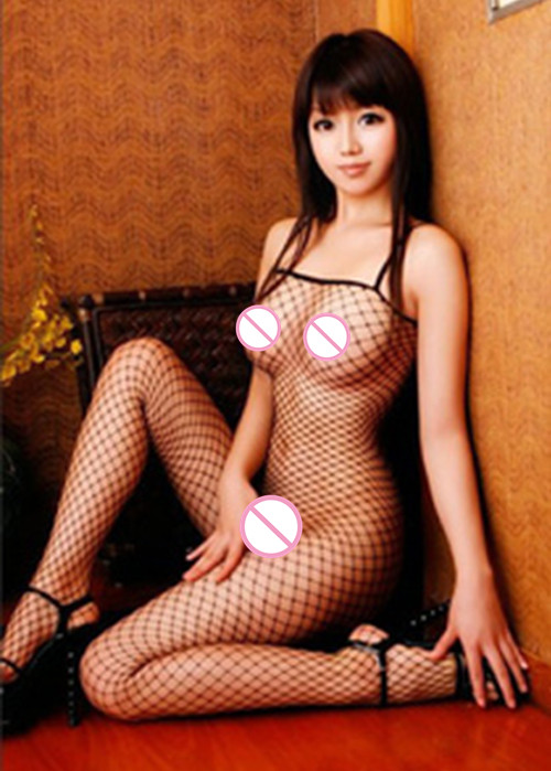 HOT Sexy Lingerie Woman Fishnet Bodystockings Body Suit Erotic Lingerie Sleeveless Open Crotch Sleepwear Underwear Sex Costumes(China)