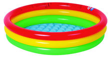 Free shipping! 114x25cm Round Shape 3 rings flatable Baby pool,kids pool inflatable kids summer water playing pool (114cmx25cm)(China)