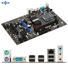 original Used Desktop motherboard For msi P43-C43 P43 support LGA 775   2*DDR3 support 8G 6*SATA2 USB2.0 ATX