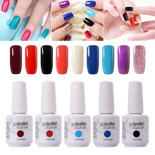Traditional 90 Color Nail Gel Colors Arte Clavo Gelpolish 15ml Nail Art Products Gel Polish Color UV Led Gel Nail Polish(China)