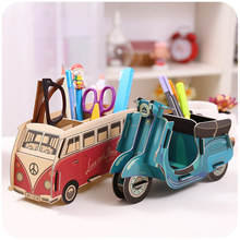 Kawaii Multifunction DIY Pen Holder Pens stand Pencil Holders for Desk Large 2016New Office Accessories Supplies Stationery