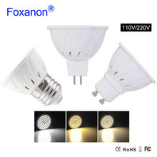 Spotlight Led Lamp GU10 MR16 E27 2835 Led Bulb GU 10 220V 110V 8W 6W 4W Spotlights Lampada Leds GU 5.3 Spot light For Lighting