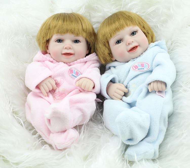 Fashion cute Kids Toys 12 inch 28cm silicone reborn baby dolls boys BH872<br><br>Aliexpress