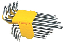 free shipping BOSI 9pc star torx wrench set long short arm(China)