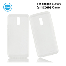 For Doogee BL5000 Silicone Case Soft Back TPU Cover Replacement For Doogee BL5000 5.o Inch Mobile Phone Protective Case Shell