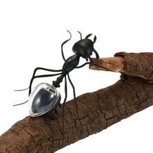 Creative Black ABS Ant Insect Kids Educational Toy Magic Solar Powered Toy Funny Gags Toy