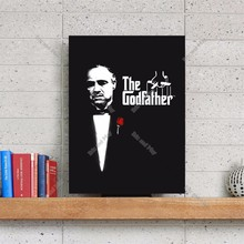 The Godfather Black Artwork Canvas Art Print Painting Poster Wall Picture For Living Room Home Decorative Bedroom Decor No Frame