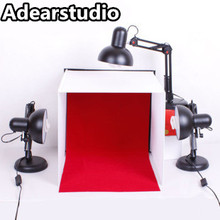 light cube Studier 40cm small set jewelry accessories jewelry mini photography light lambed shed shooting light equipment cd50(China)