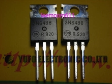 Free Shipping One Lot 4x 2N6488 Semiconductors Transistor PNP TO-220(China)