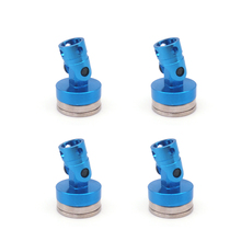 4PCS Aluminum Magnetic Stealth Invisible Body Post Mount for 1:10 RC Car HSP Tamiya RC Crawler Axial SCX10 RC4WD D90(China)