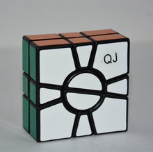 QJ 2x2x2 SQ One Cube Speed Magic Cube Puzzles Educational Toys Special Toys(China)