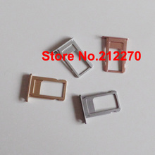 "Original New Nano Sim Card Tray Slot Holder Replacement Parts For iPhone 6S Plus 5.5"" Gold/Gray/Siver/Rose Gold For Sample order"