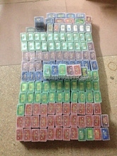 wholesale 20-200pcs/lot video Games Emerald Fire Red Ruby Sapphire Leef Green mixed order allowed(China)