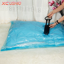 2pcs/lot Vacuum Compressed Bag Clothing Quilt Vacuum Seal Bag Space Saving Storage Bags Home Closet Organizer Bag