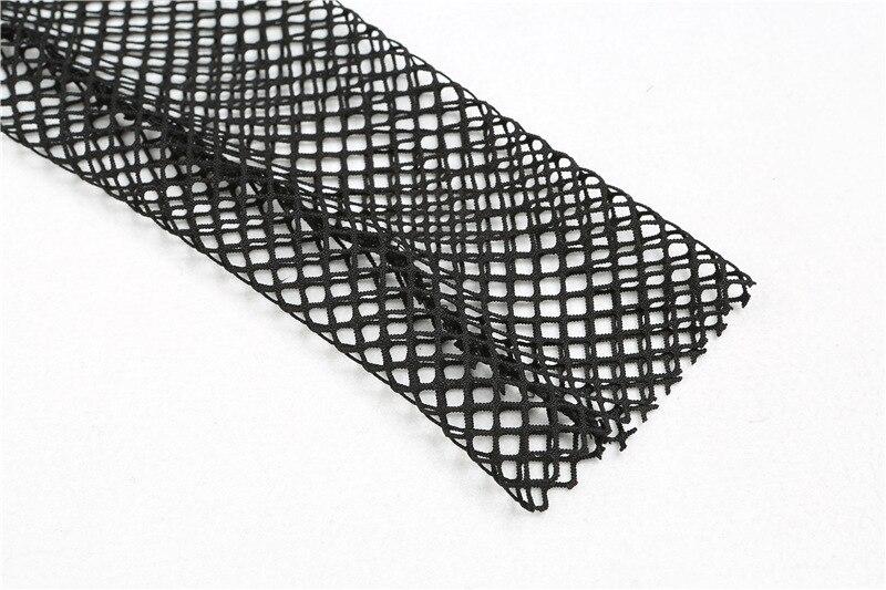 2018 New Style Fishnet Mesh See-through Black shirts Female Harajuku Sexy Long Sleeve Tee Tops (9)