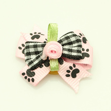 Armi store Handmade Accessories For Dogs Fashion Style Ribbon Bow 23008 Pet Supplies Wholesale(China)