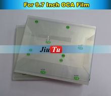 10pcs/lot 9.7inch OCA Film for Repair Broken LCD Touch Screen Fr iPad Air 2 LCD / Digitizer Oca Laminator