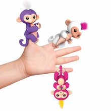 Fingerlings Interactive Baby Monkeys Smart Induction Toys Colorful Ever Cute Finger Monkey Toy Best Gifts for Children Kids