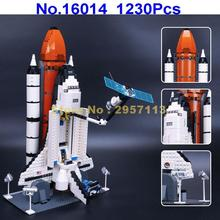 LEPIN 16014 1230Pcs Aviation Space Shuttle Expedition Building Blocks Compatible 10231 Brick Toy