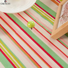 table cloth home outdoor wedding party woven plaid Korean linen Bamboo cotton cloth material multi-purpose coffee table towel