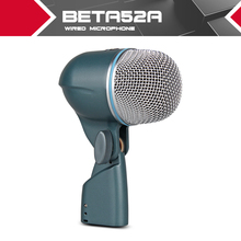 Free Shipping New boxed BETA52 Vocal Instrument Kick Drum Bass Microphone Professional sound system no switch 52A