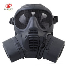 Element Brand GSR Facepiece Airsoft Tactical Military Face Mask Gas Masks For Men Hunting Combat Outdoor Face Black (EX 337)