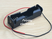 New 5Pcs 18650 Battery Holder Box Case Black With Wire Lead 3.7V Clip high quality