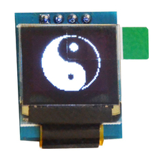 "White 0.66 inch OLED Display Module 64x48 0.66"" LCD Screen IIC I2C for Arduino AVR STM32"