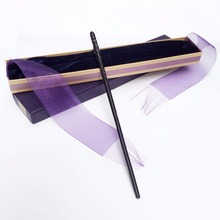 New Arrive Metal Iron Core Ginny Weasley Wand Harry Potter Magic Magical Wand Elegant Ribbon Gift Box Packing(China)