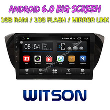 WITSON 10.2 inch BIG SCREEN Android 6.0 CAR GPS for VOLKSWAGEN SKODA SUPERB GPS RADIO Quad core 1GB RAM+DVR/WIFI+DSP+OBD+DAB+3G(China)