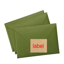 New 30 Pcs Kraft Sticker Paper Heat Toner Transfer A4 Self Adhesive Brown Printing Copy Label Paper for Laser Inkjet Printer