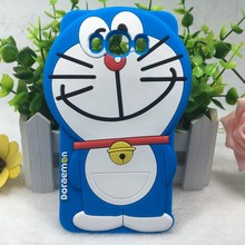 New Arrival 3D Cartoon Doraemon Silicone Cell Phone Case Cover For Samsung Galaxy J5 2016 J510  / J7 2016 J710 / J1 2016 J120