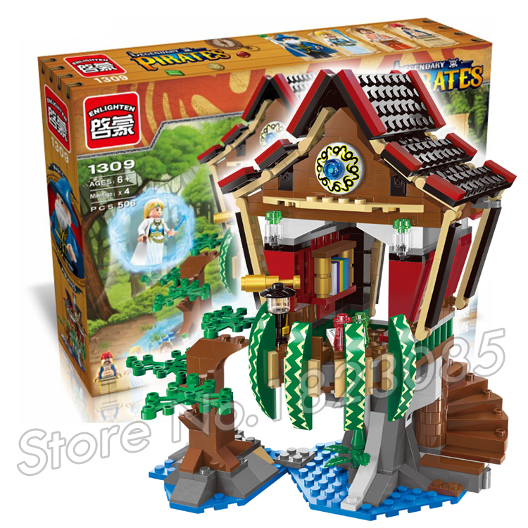 506pcs 2017 new House of Sorcerer Building Blocks Assembling DIY Educational Toys for Children Compatible With Lego<br><br>Aliexpress